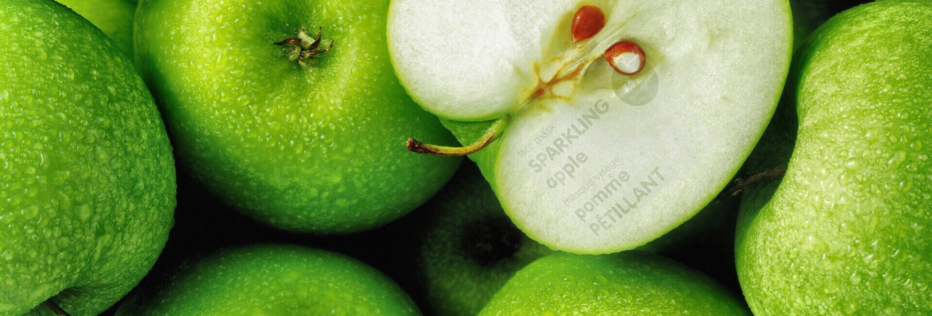 The Face Shop Sparkling Apple Face Mask