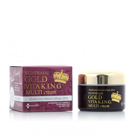 Мульти-крем для лица SKINFACTORY Gold Vita King Cream