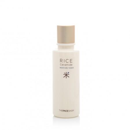 Тонер рисовый с керамидами THE FACE SHOP Rice & Ceramide Moisture Toner